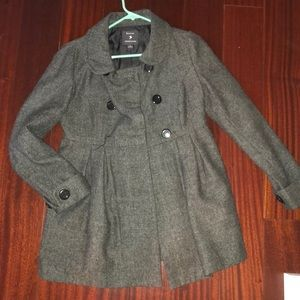 Forever 21 grey pea coat